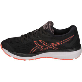 asics Gel-Cumulus 20 Shoes Women Black/Flash Coral